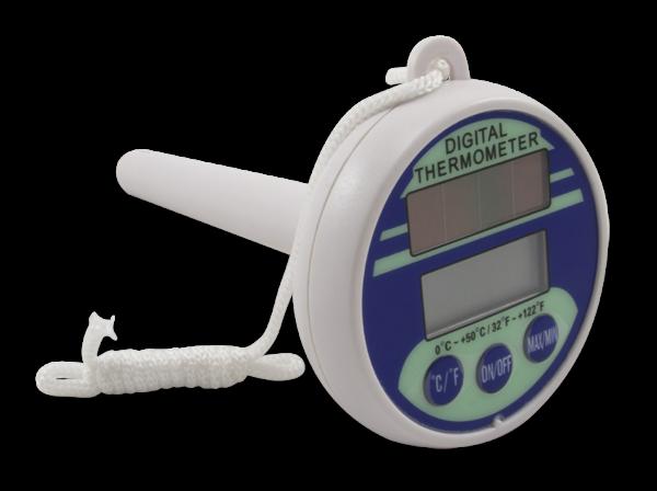 Digital flydetermometer