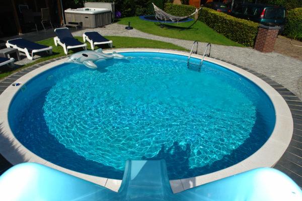 Milano rund pool - Køb hos Solbadet