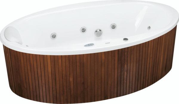 Aura oval spa 190x100 cm