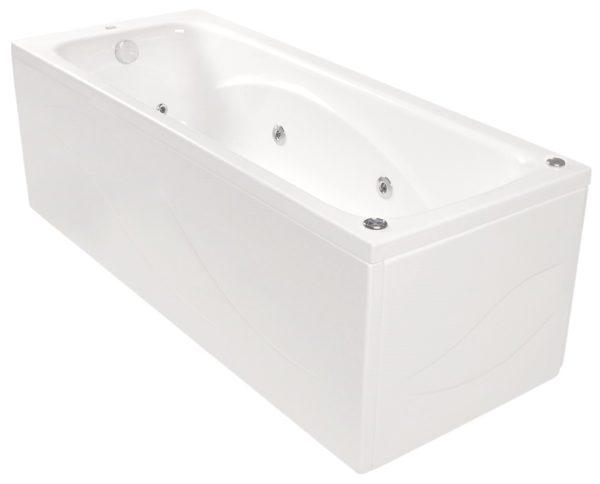 Klio rektangulær badekar
