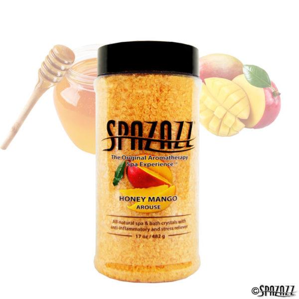 Honey Mango en skøn honning duft til boblebad fra Spazazz - SolBadet