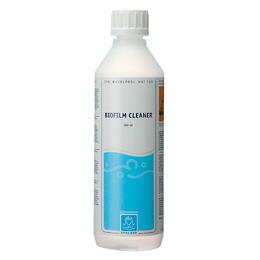 Biofilm Cleaner 500 ml til at fjerne biofilm i rørsystemet. Køb ved Solbadet
