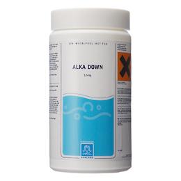 Alka Down 1500 g til sænkning af alkalitet. Kalk i vandet giver uklar vand