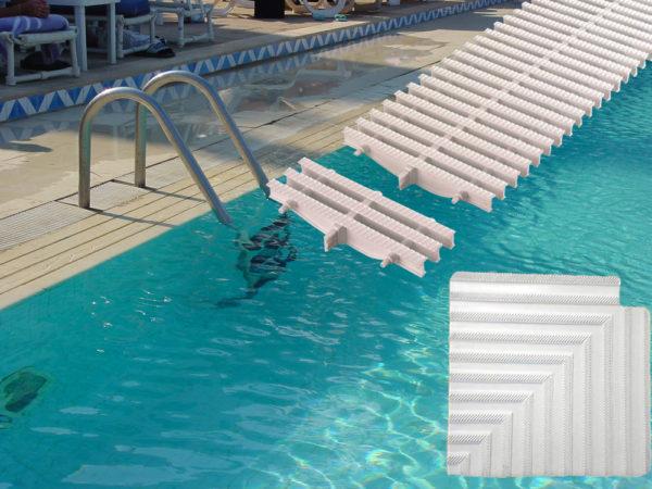 Overløbsriste til pool