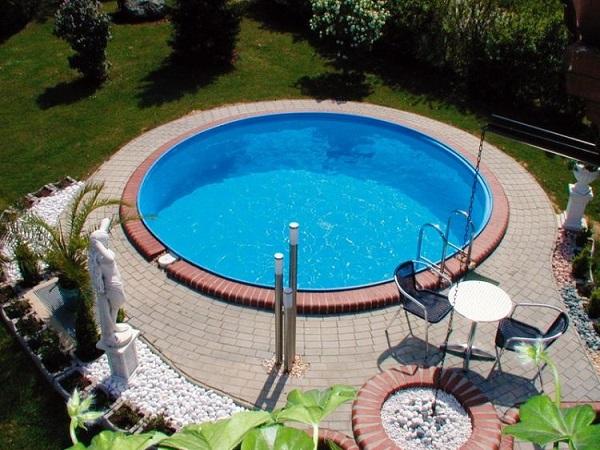 Milano Pool pakke tilbud 1. Rund Ø3,5 m.11500 L. Flere tilbud - SolBadet.dk