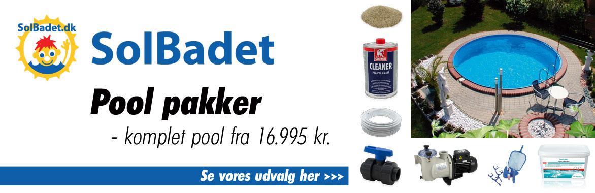 Køb komplette poolpakker hos Solbadet - gode priser