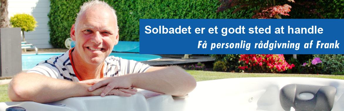 Solbadet - et godt sted at handle -alt i pool og spa udstyr
