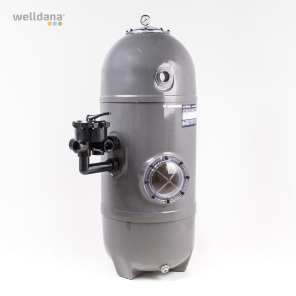 San Sebastian filter fra Solbadet i grå
