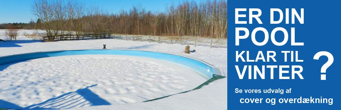 Er din pool klar til vinter køb cover og overdækning hos Solbadet