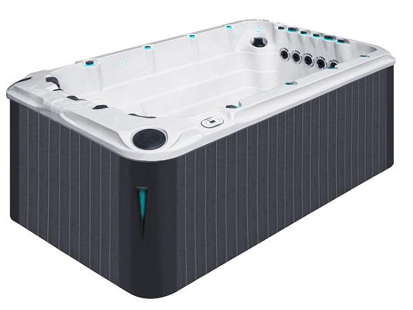 Passion Swimspa Activity. Svømmespa med 3 spapladser i samme bassin.