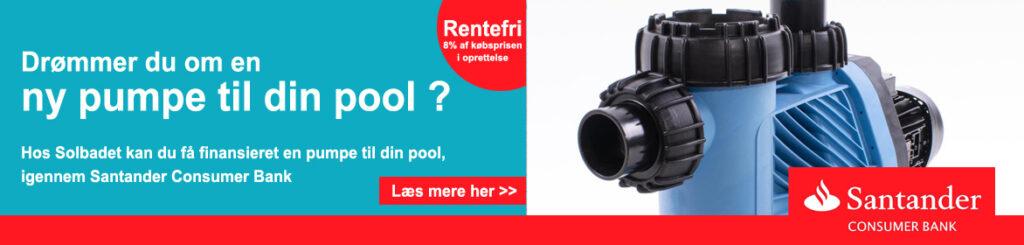 Trænger du til en ny pumpe - får den finansieret hos Solbadet
