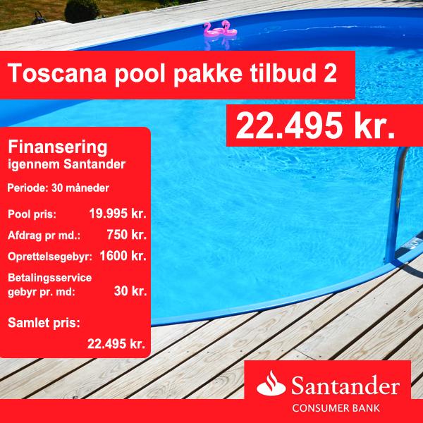 Finansiering af Toscana pool hos Santander igennem Solbadet