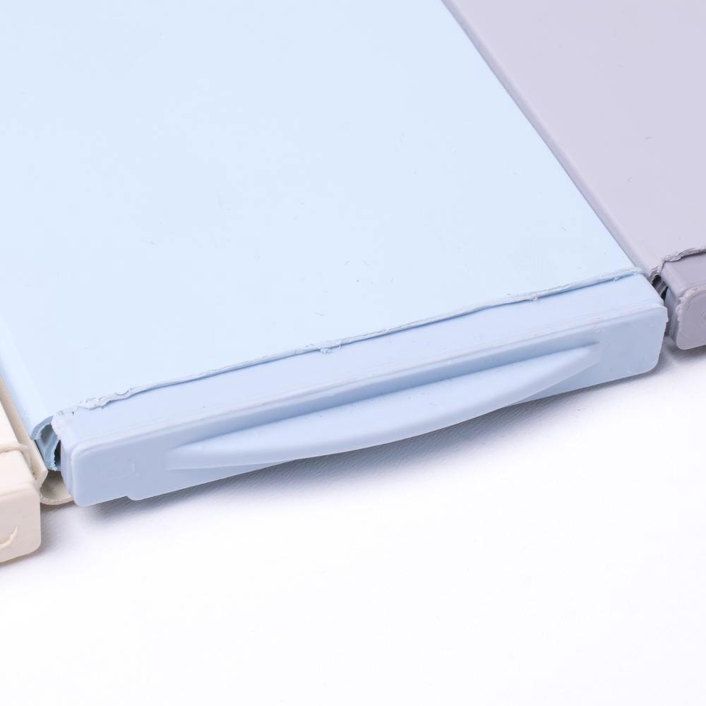 Aquadeck lamel cover lys blå solbadet