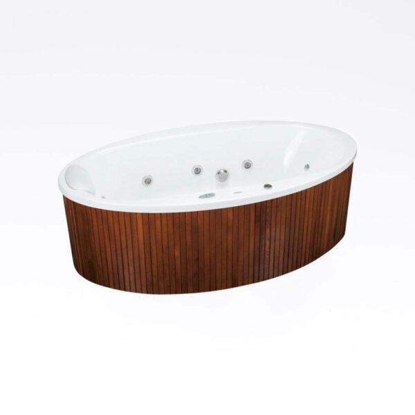 Aura 190x100 oval spa solbadet