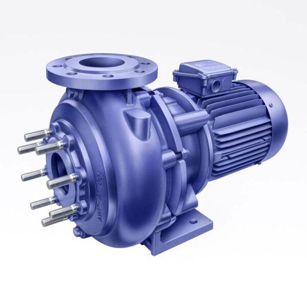 Badu AWP pump. 5,5kw 1450rpm. Løbehjul i støbejern. solbadet