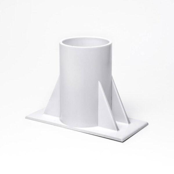 Basefod til oprulningsstativ standard above ground, Flipper solbadet