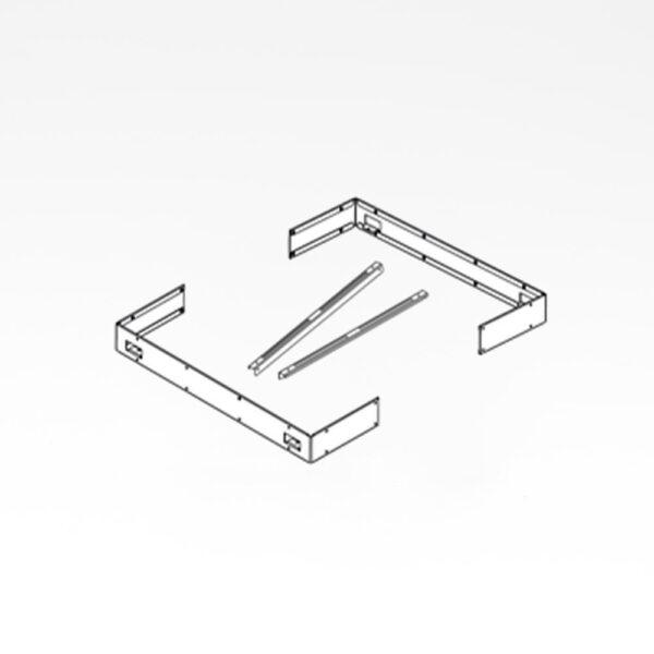 Beslag til kantliste sæt Sentiotec Concept Mini solbadet