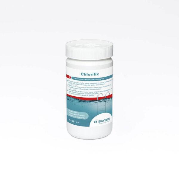 Chlorifix 1 kg 3077 fast stof Farlig gods – Klasse 9 solbadet