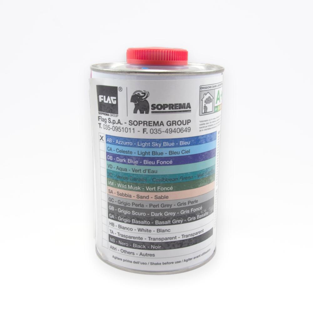 Flydende folie 1 kg (UN 2056) solbadet