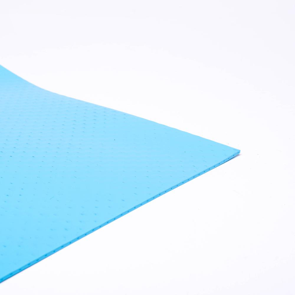 Folie 1,5mm lys blå folie til pool solbadet