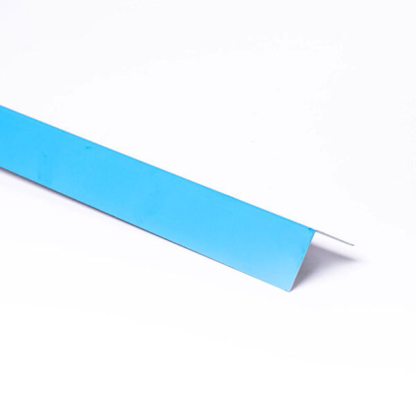 Folieblik 5 x 5 x 200 cm, vinkel model solbadet