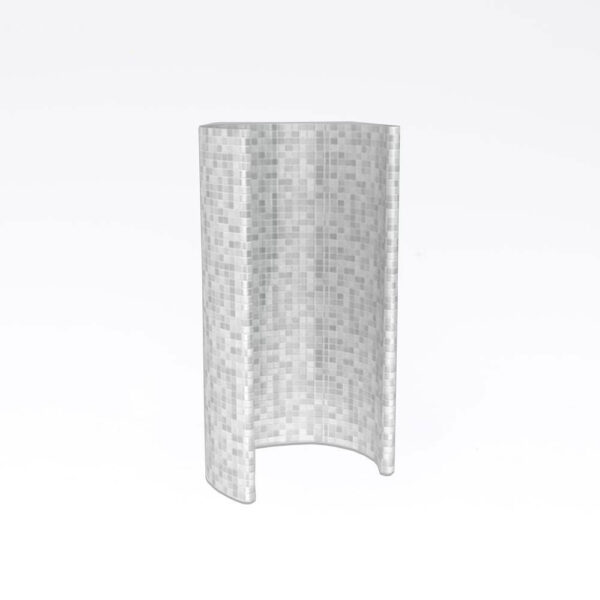 Harvia Circle Spa-Modul, uden beklædning Polystyren, vandresistent, 85.5x210.0cm solbadet