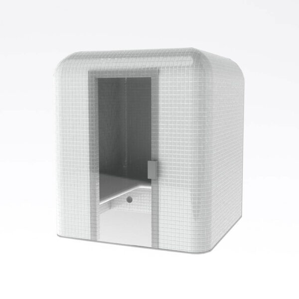 Harvia Cubo Dampkabine, uden beklædning Polystyren, vandresistent, 200.0x225.0x200.0cm solbadet