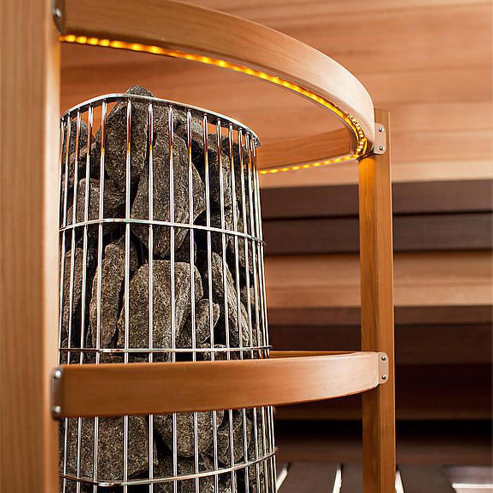 Harvia Kivi elektrisk saunaovn close up