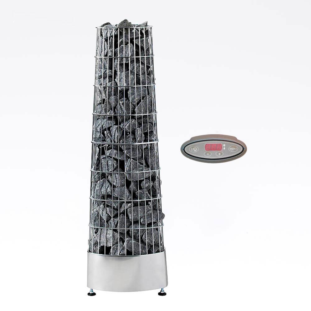 Harvia Kivi elektrisk saunaovn med panel