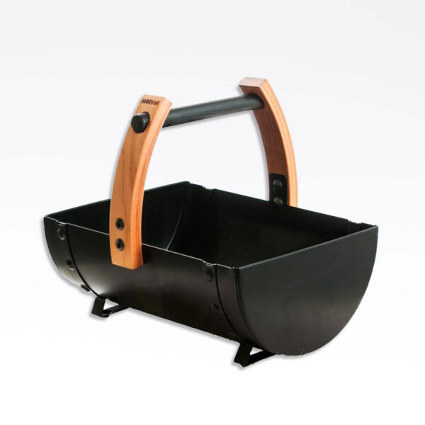 Harvia Legend sauna spand Sort, TræMetal, 35.1×31.5×26.2 solbadet