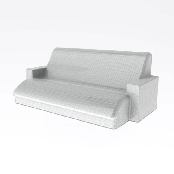 Harvia Relax bænk, uden beklædning Polystyren, vandresistent, 110.0x145.0cm solbadet