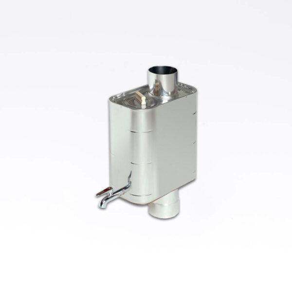 Harvia Vandvarmer, rørmodel 22L Stål, 22L, 19.0x35.5x41.0cm, ikke til harvia 50 solbadet