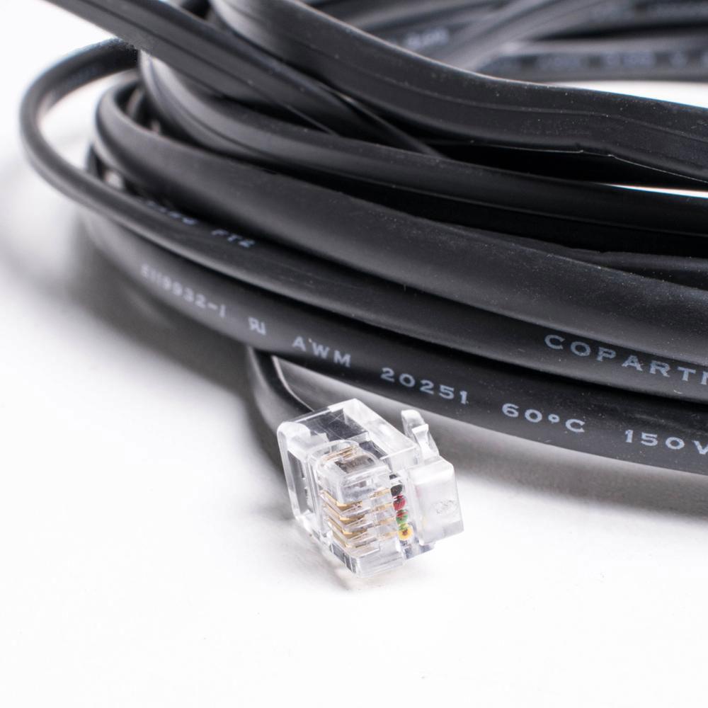 Kabel med stik til touch/Gri Til Harvia Steamgenerator close up rulle solbadet
