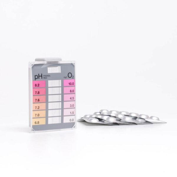 Minitester Oxygen – pH solbadet