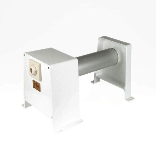 Oprulningsstativ m/nøgleboks 5x10mtr. 230/24 volt DC Solbadet