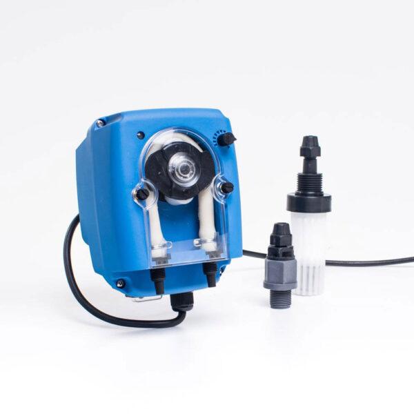 Peristaltisk pumpe 1 og 3 L solbadet