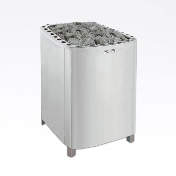 Sauna element 2500W, 230V Terminaler i bunden.