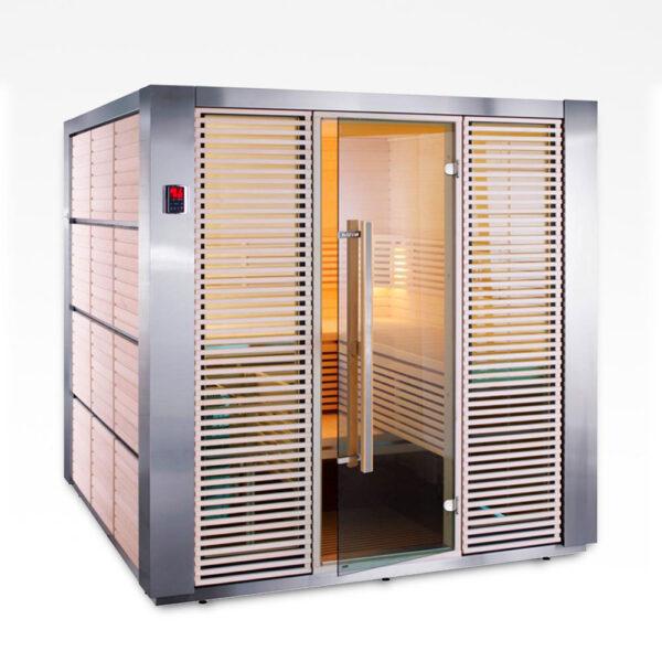 eksklusiv minimalistisk sauna solbadet