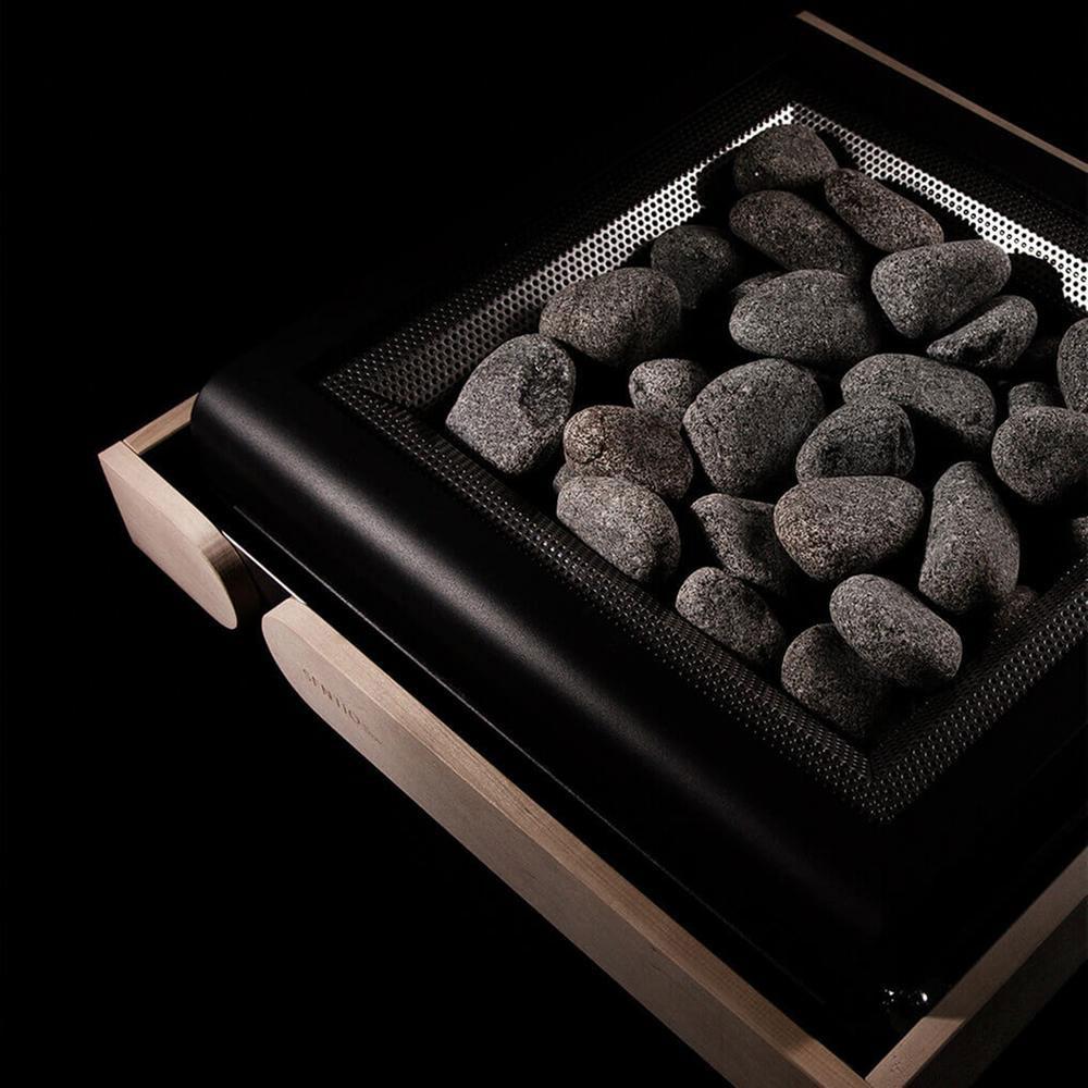 Sentiotec Concept R 10,5 KW Sort ovenfra solbadet
