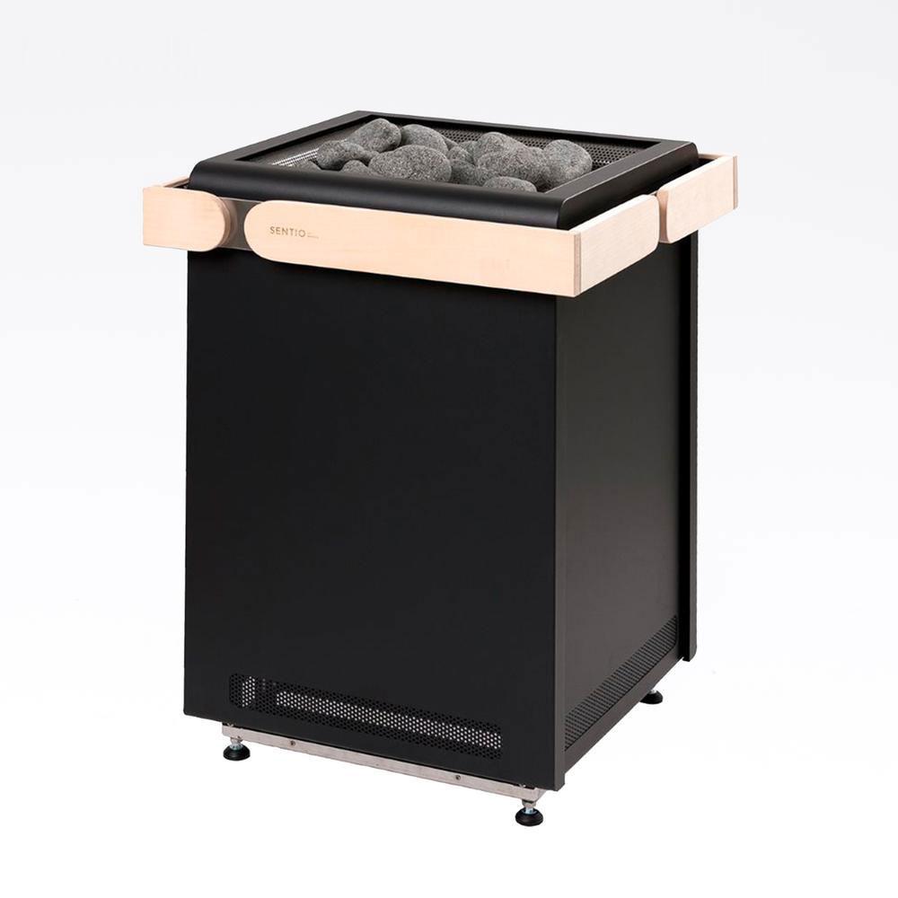 Sentiotec Concept R 10,5 KW Sort solbadet
