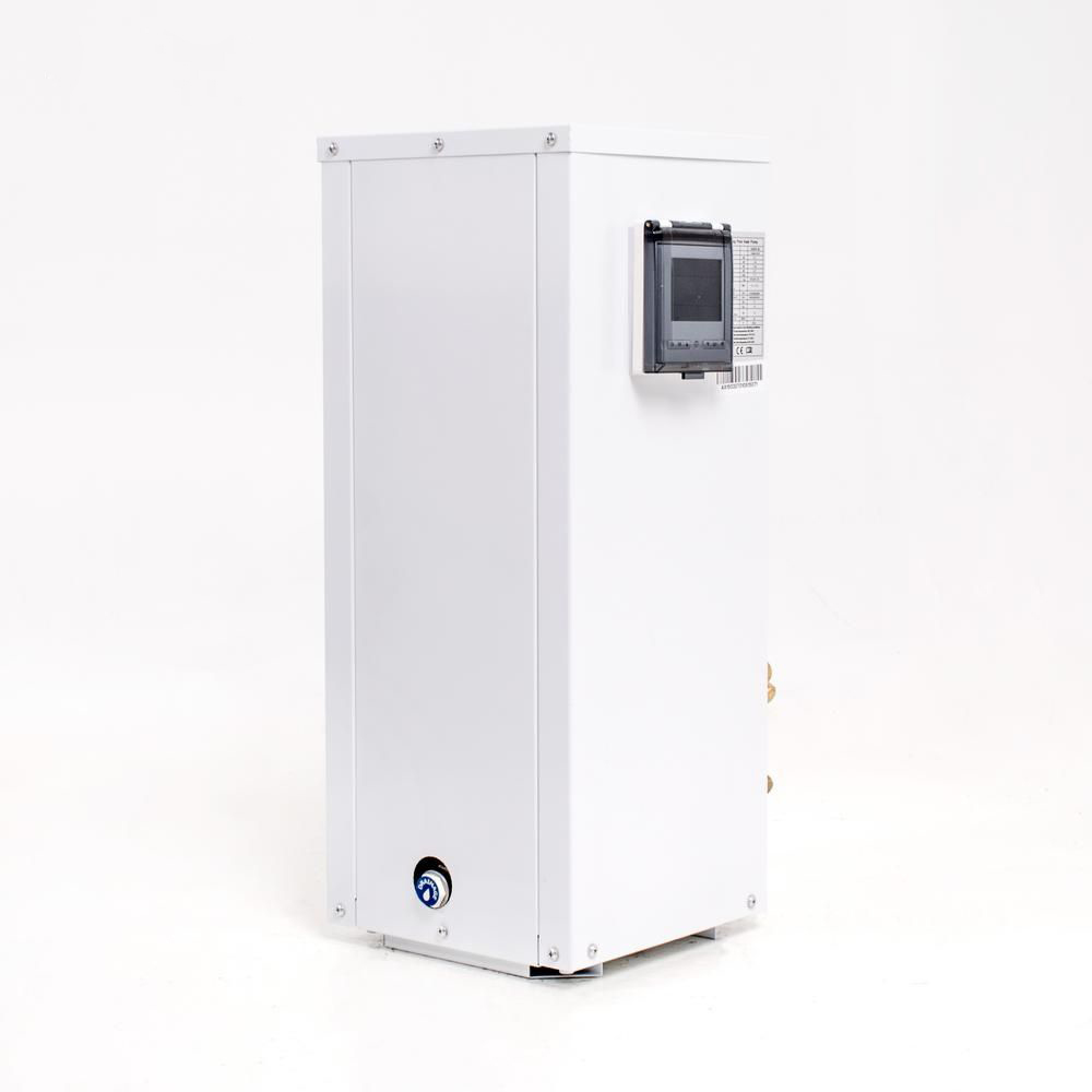 Split varmepumpe 9 kW hvid front Solbadet