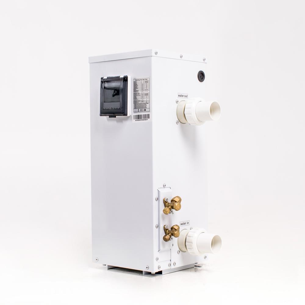 Split varmepumpe 9 kW hvid front