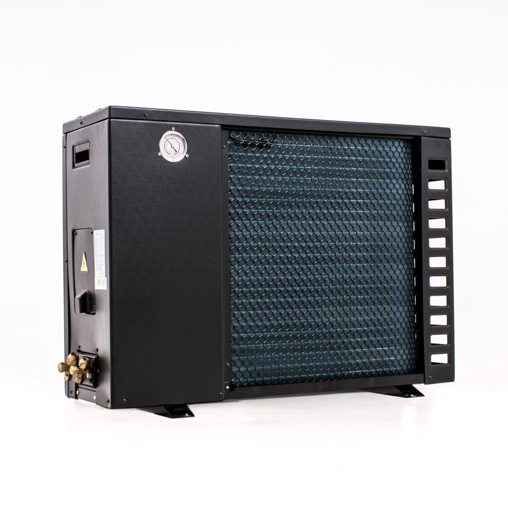 Split varmepumpe 9 kW bagfra