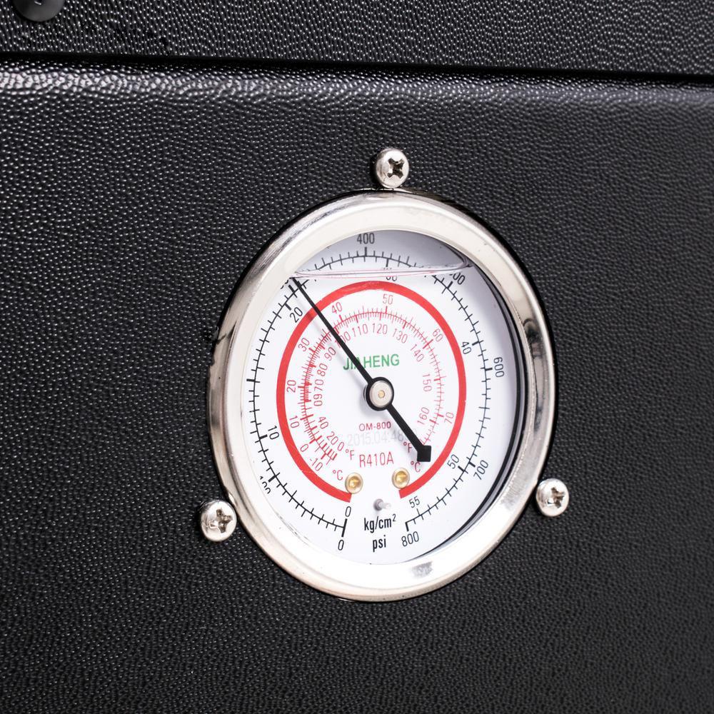 Split varmepumpe 9 kW termostat solbadet