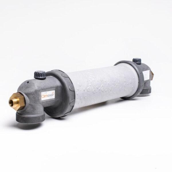 Titanium Heat exchanger varmeveksler Solbadet