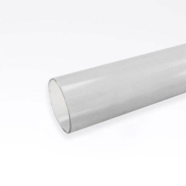 Transperant 50 mm. PVC rør 30 cm solbadet