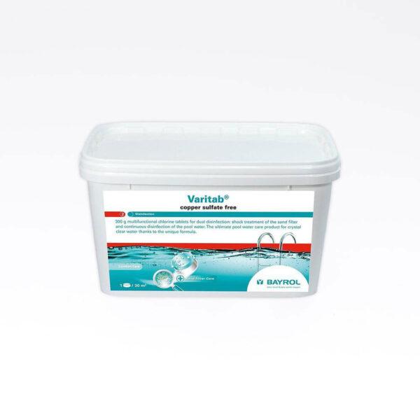 Varitab 5,4 kg 300 gr.Ikke LQ 2-phase chlorine multitab solbadet