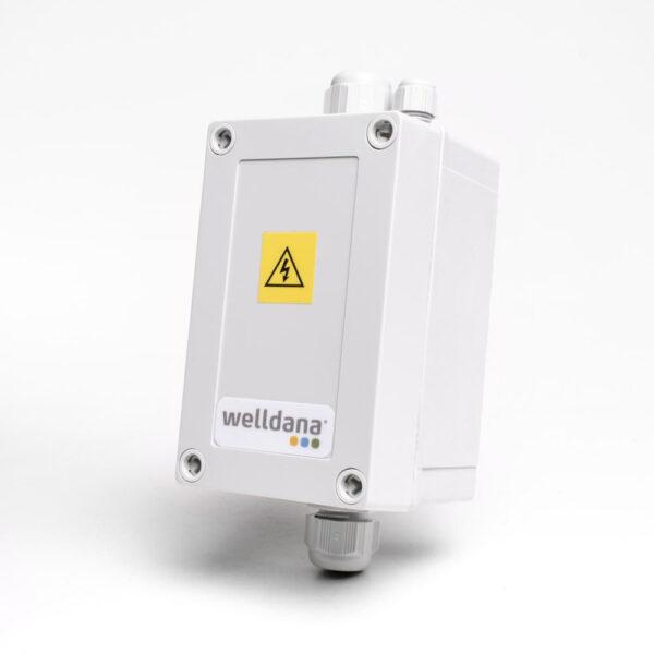 Welldana® Kontakterboks Til max 12 kW elvarmer Solbadet