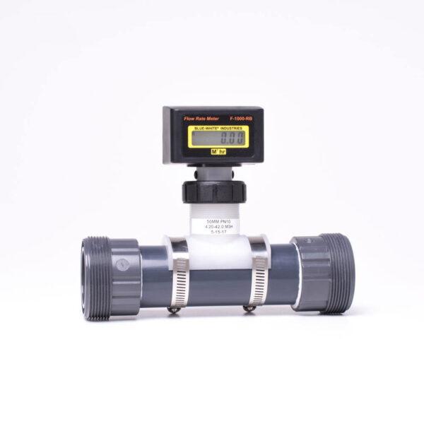 Welldana® Digitalt flowmeter solbadet