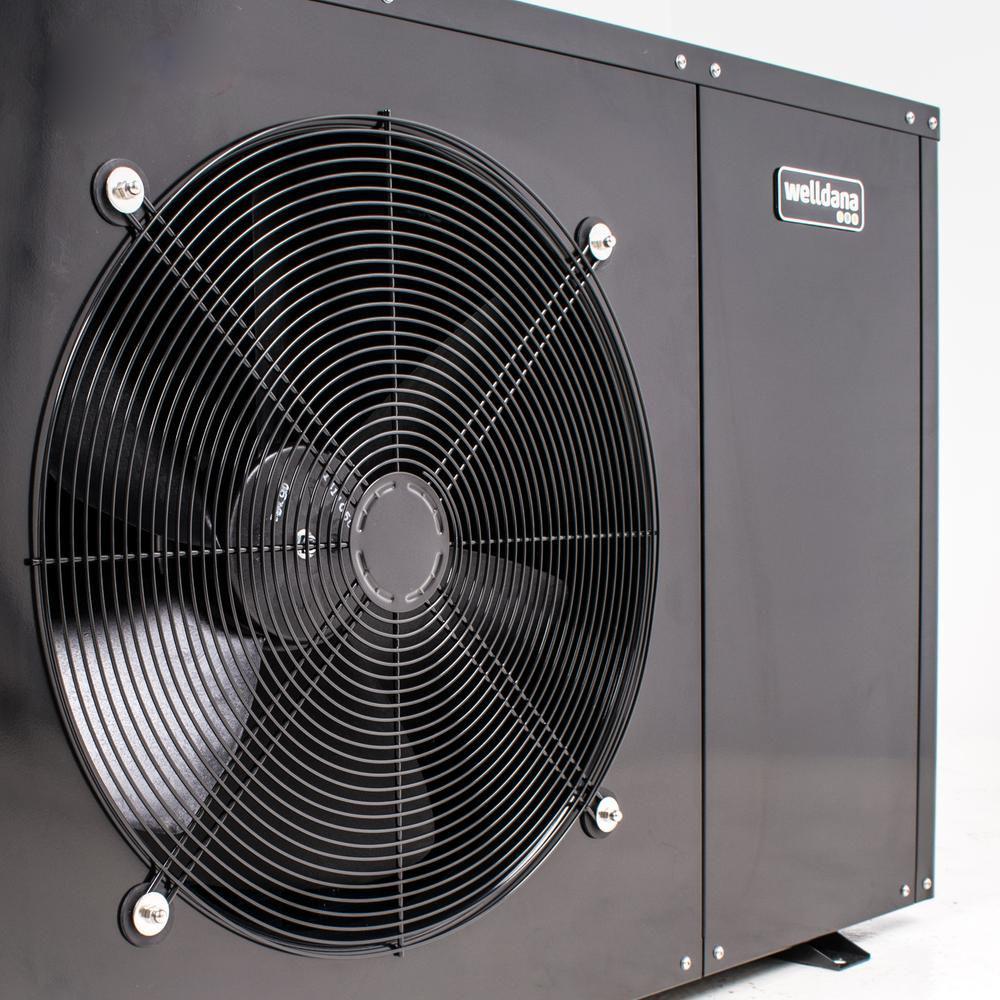 Welldana Heat pump FMH solbadet opvarmning